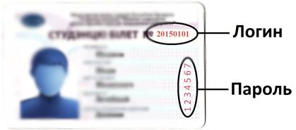 Снимок студенческого билета